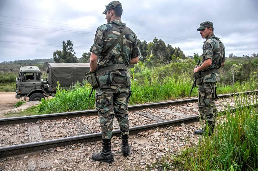 Terminaron las excavaciones en el Batallón 14 de Toledo: sin resultados - la diaria