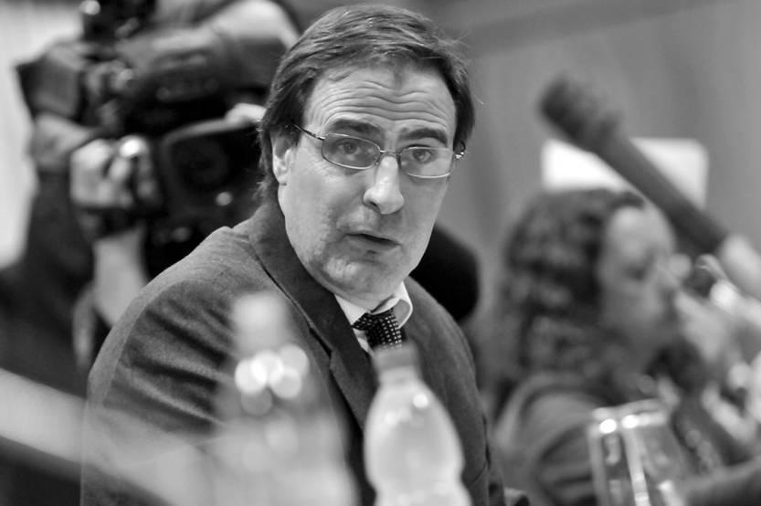 Álvaro Garcé. (archivo, mayo de 2012)