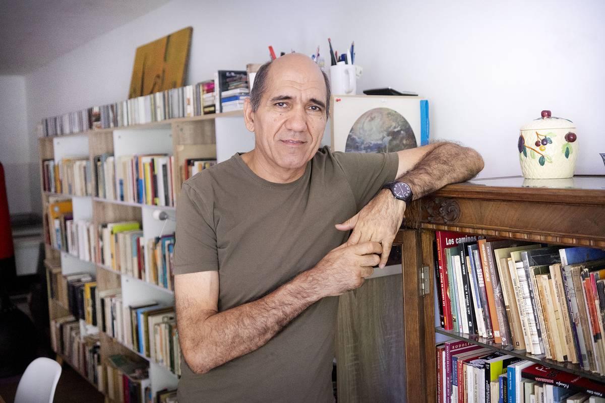 Gerardo Ciancio en su casa.