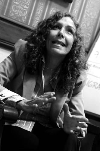 Constanza Moreira. /Foto: Pablo Nogueira (archivo, octubre de 2012)