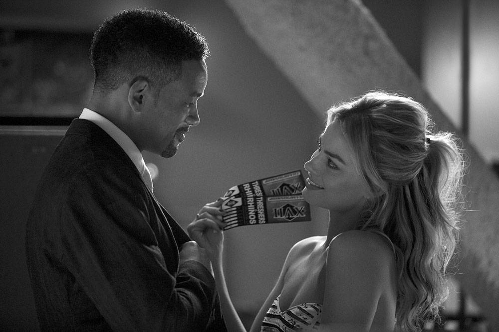 Focus: maestros de la estafa (Focus). Dirigida por Glenn Ficarra y John Requa. Con Will Smith, Margot Robbie, Gerald McRaney. Estados Unidos, 2014.