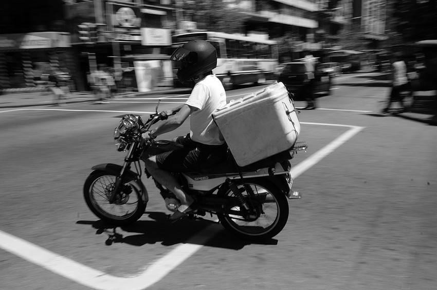 La mitad de las muerte en tránsito son deliverys