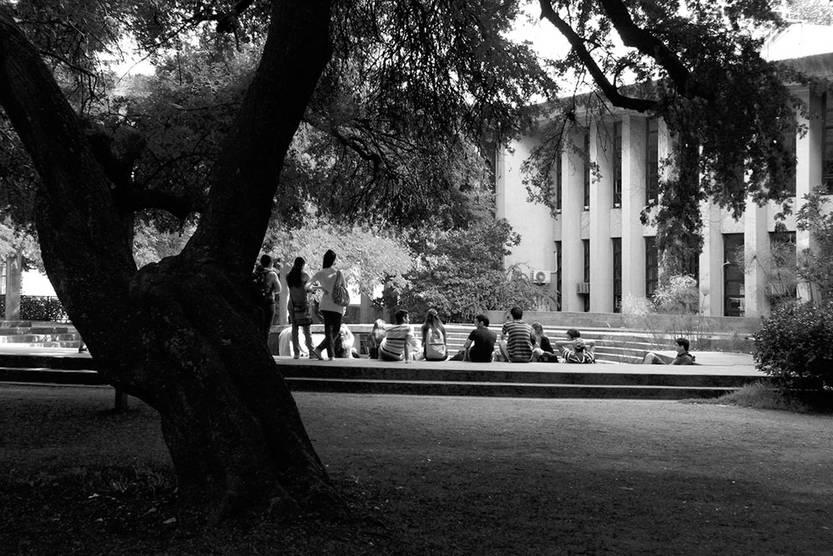 Facultad de Arquitectura. Foto: Gustavo Hiriart
