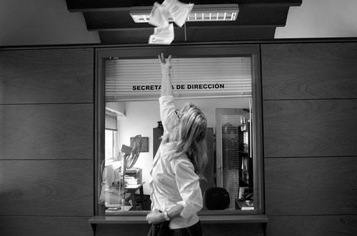 Movilización de funcionarios del Hospital Español. Foto: Pablo Vignali