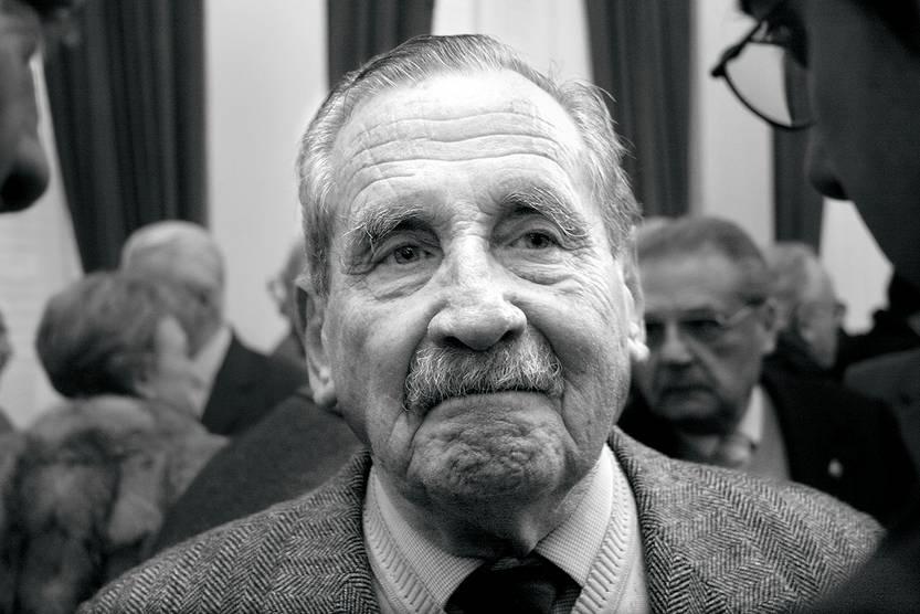 Gregorio Álvarez. • foto: sandro pereyra (archivo, setiembre de 2006