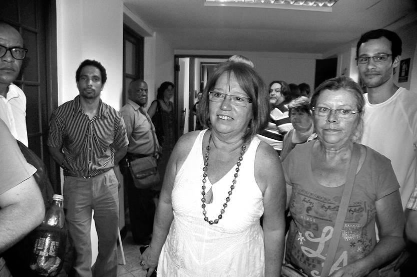 Mónica Xavier, ayer, en la Casa del Pueblo. Federico Gutiérrez