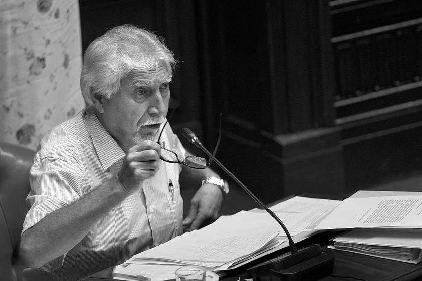Óscar Groba. Foto: Andrés Cuenca (archivo, febrero de 2017)