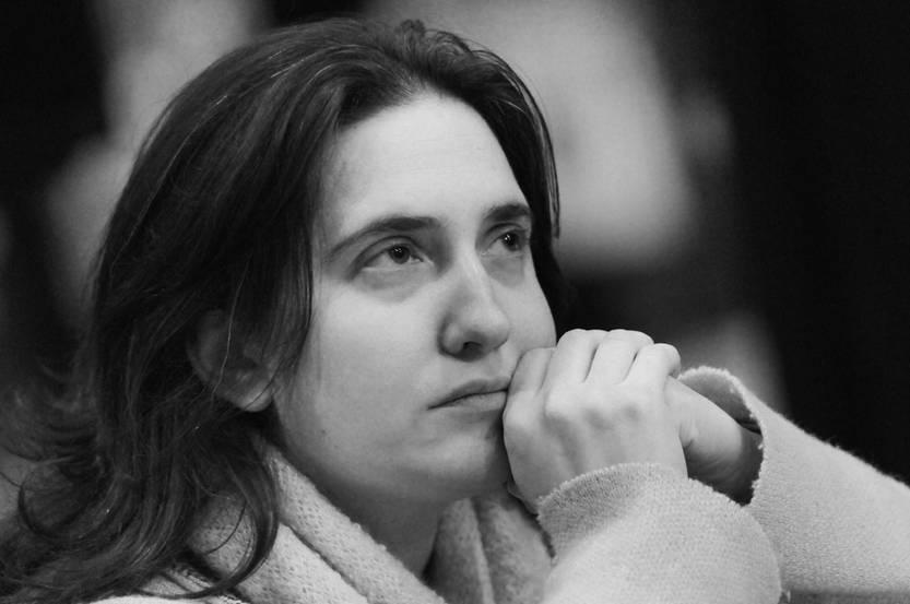 Macarena Gelman. Foto: Nicolás Celaya (archivo, junio de 2014)