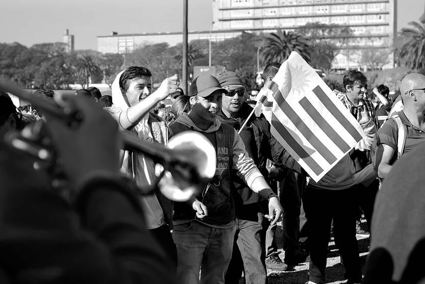 Asamblea nacional de delegados del Sindicato Único Nacional de la Construcción y Anexos, ayer, en el Teatro de Verano. Foto: Pablo Vignali