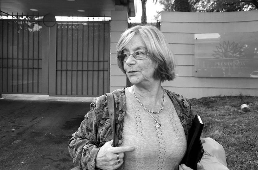 Mirtha Guianze. Foto: Mauricio Khüne (archivo, marzo de 2016)