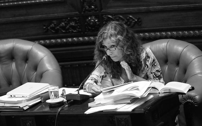 Constanza Moreira. (archivo, diciembre de 2012)