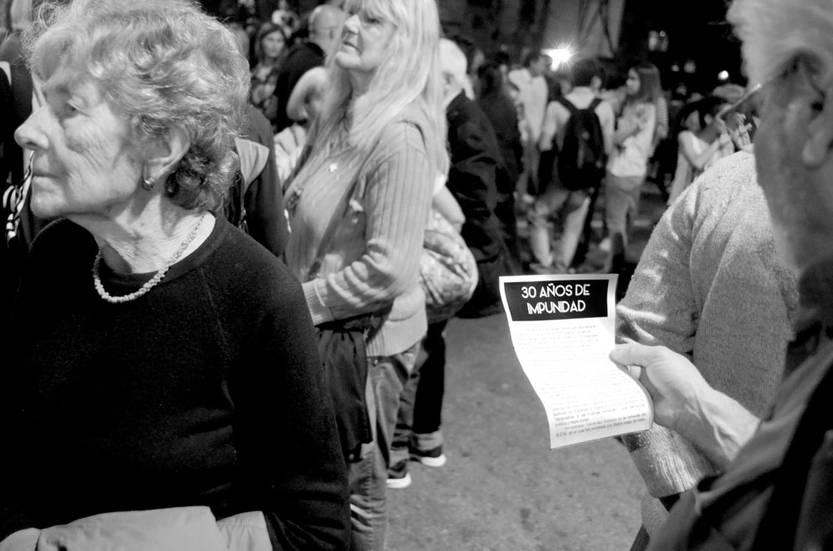 Vigésima Marcha del Silencio Foto: Pablo Vignali (archivo, mayo de 2015)