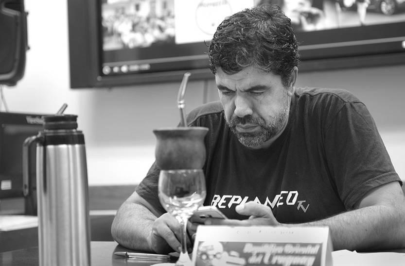 Oscar Andrade. Foto: Andrés Cuenca (archivo, abril de 2017)