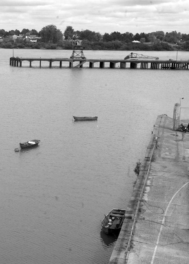 Puerto de Salto. Foto: Iván Franco (archivo, octubre de 2008)