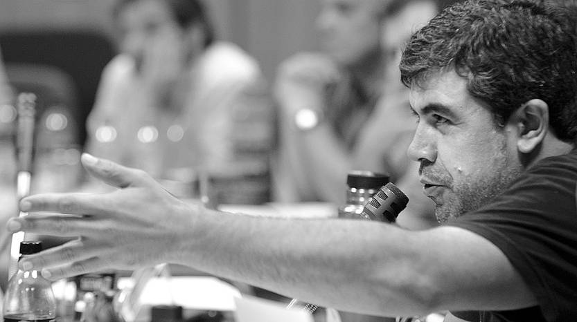 Oscar Andrade. Foto: Santiago Mazzarovich (archivo, enero de 2016)