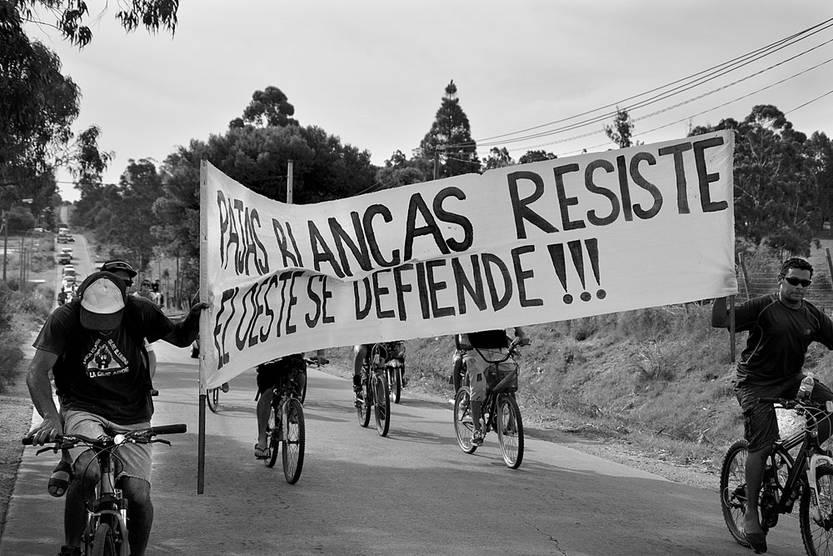 Marcha contra la minería, el domingo 17, en Pajas Blancas. Foto: Iván Franco