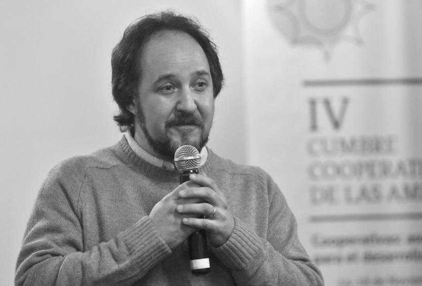 Gabriel Isola, ayer, en el Prado. Foto: Federico Gutiérrez