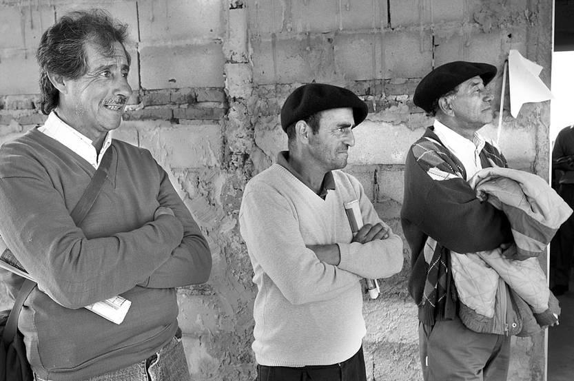 Día del Trabajador Rural, en Pueblo del Barro, en el departamento de Tacuarembó. Foto: Sandro Pereyra (archivo, abril de 2016)
