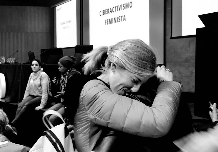 El sábado fue el primer Encuentro de Feministas Desorganizadas, convocado por redes sociales y que reunió a más de 200 mujeres