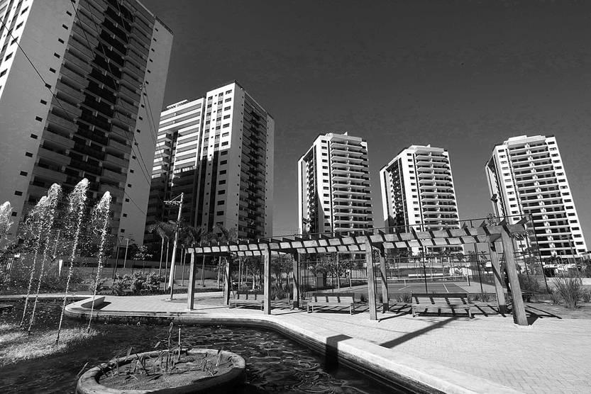 Villa Olímpica en Río de Janeiro, el 15 de junio. Foto: Beth Santos, Afp