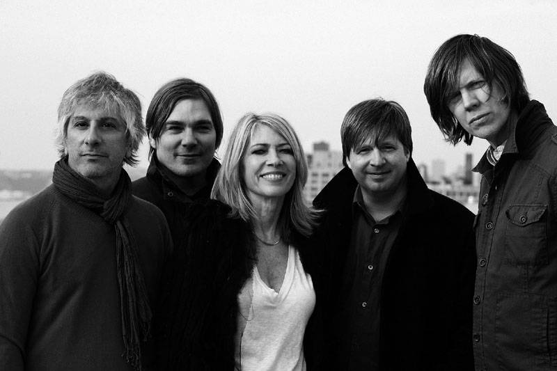 Lee Ranaldo, Mark Ebold, Kim Gordon, Steve Shelley y Thurston Moore