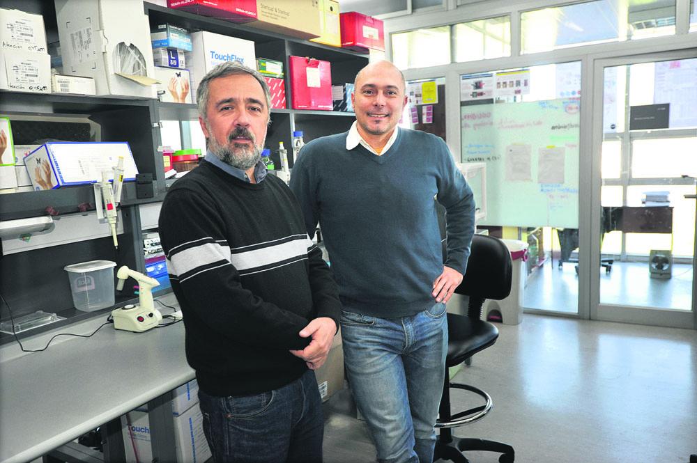 Carlos Robello y Marcelo Comini